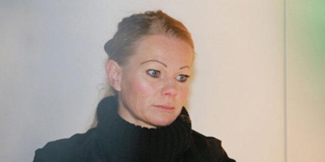 Kathrin Oertel - un regard qui fait froid dans le dos.
