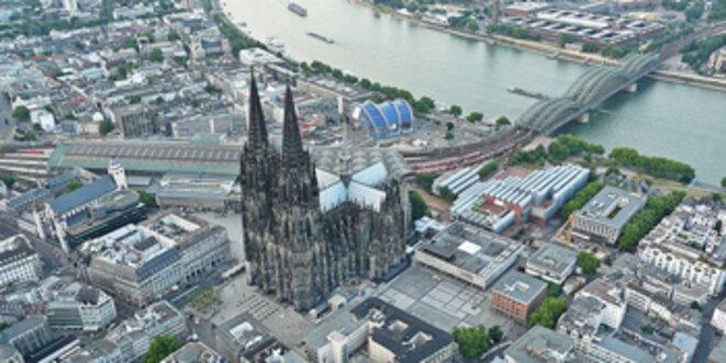 La Cathédrale de Cologne.