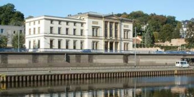 Le Landtag de la Sarre. © AnRo0002 / Wiki Commons