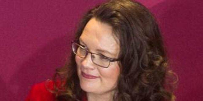 Andrea Nahles (SPD) - une social-démocrate ?