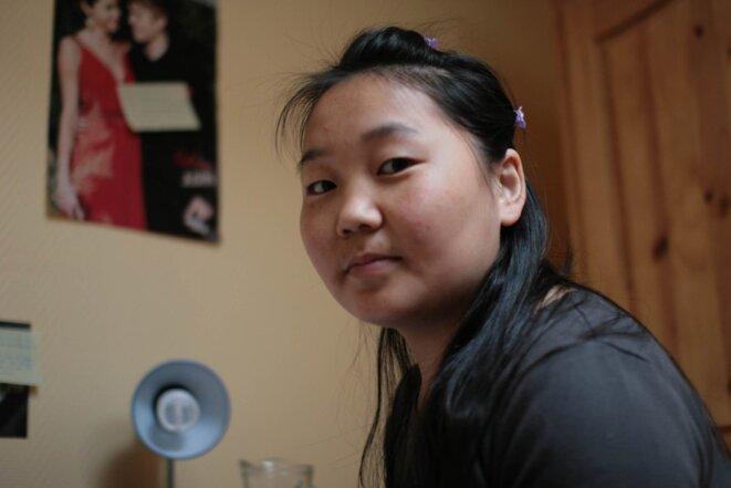 Anga vit au Foyer intergénération Loumet à Pamiers. Elle vient de Mongolie-Intérieure, une région autonome chinoise.