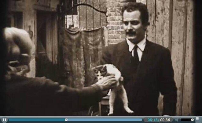 Le regard de Georges Brassens © Un film de Sandrine Dumarais