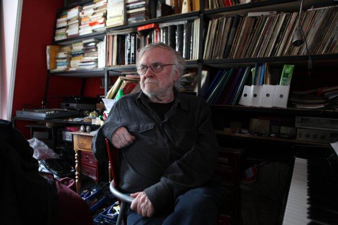 François Tusques, chez lui en 2014
