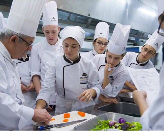 Au lycée Savoie Léman © Joseph Gobin / La France VUE D'ICI