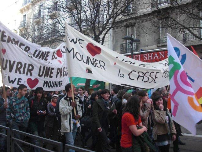 Manifestation en février 2011 © DR