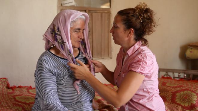 Nazli et sa mère