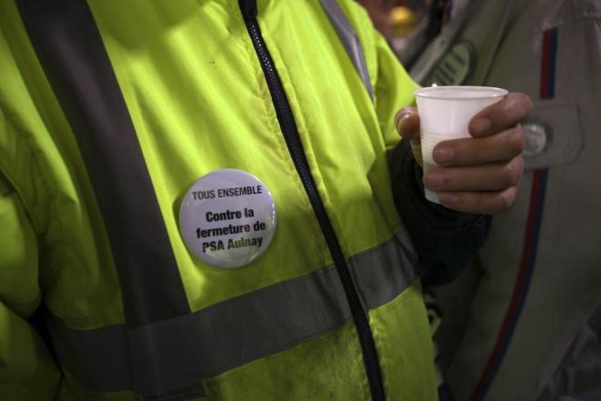 Un café avant l'AG des grévistes