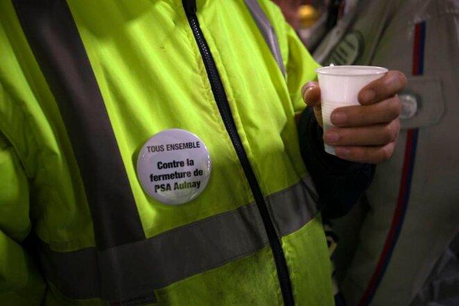 Un café avant l'AG des grévistes © Thomas Haley