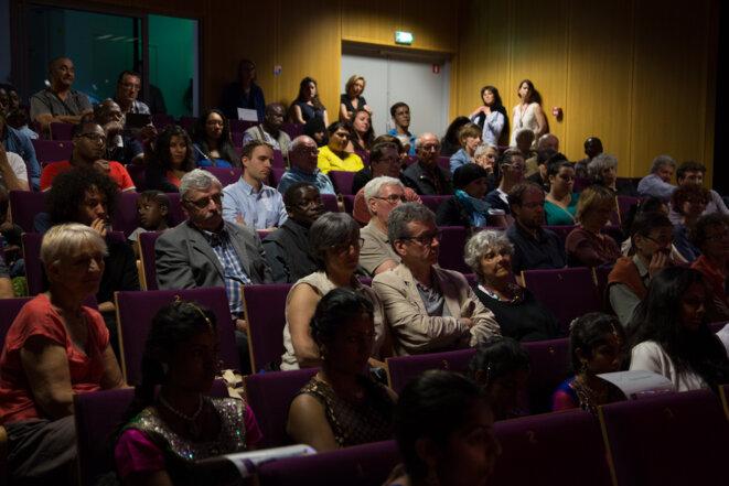 Quelque 200 personnes dans le public. © Thomas Haley