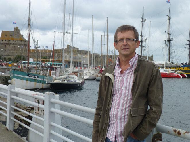 Jean-Jacques Tanquerel, médecin hospitalier à Saint Malo © C C-C