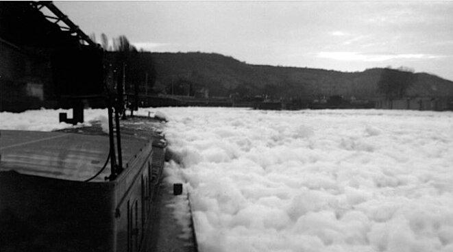 La Seine, à la fin des années 50