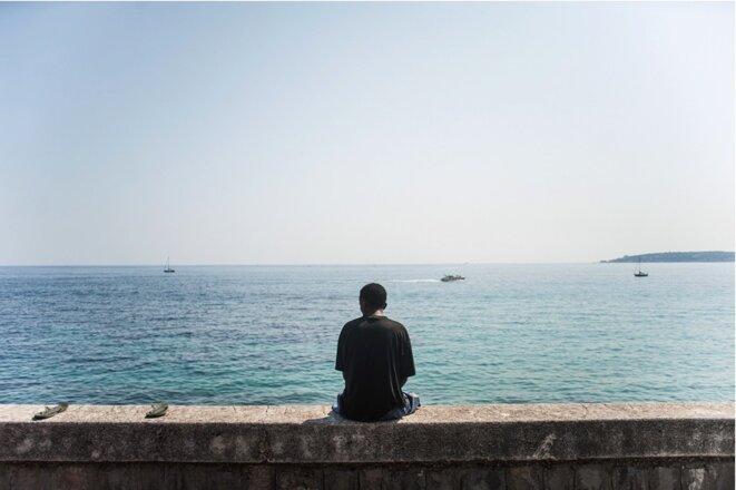 Front de mer de Vintimille © Michel Lapini