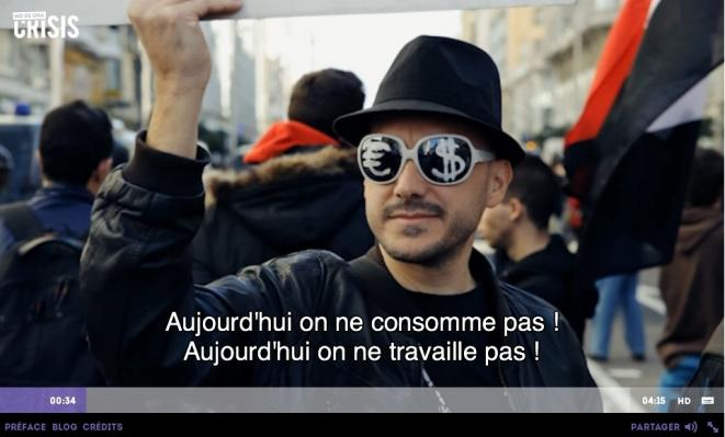 Un webdocumentaire accessible dans la page