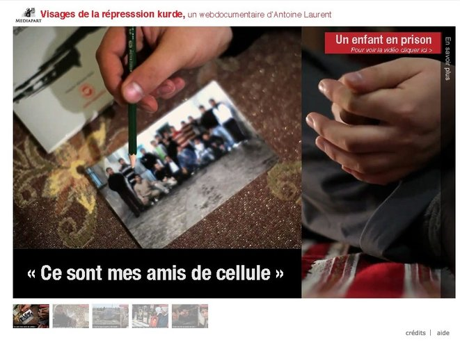 Webdocumentaire accessible dans l'article