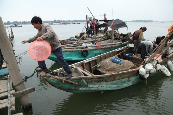 Wukan, un village de pêcheurs