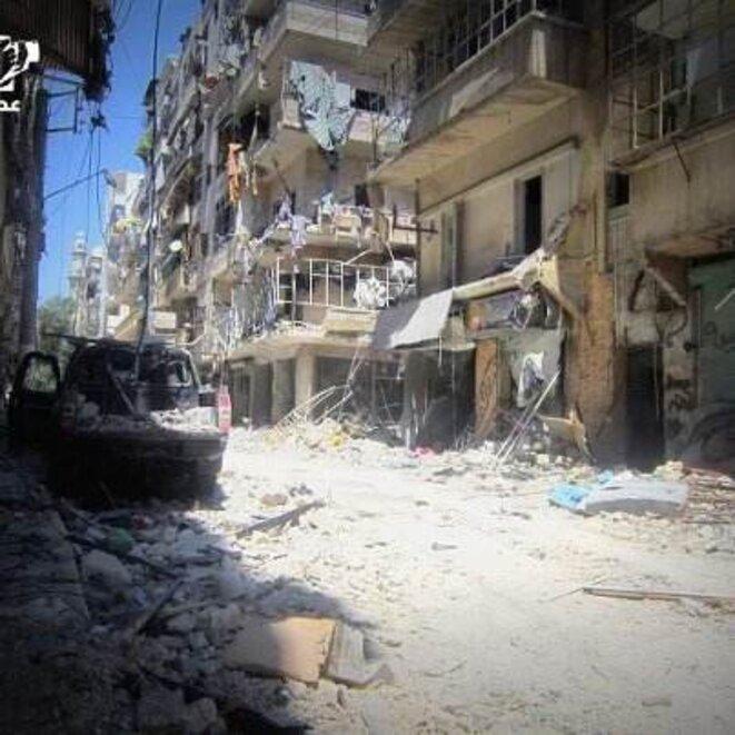 A Alep. Photo envoyée le 6 août 2012