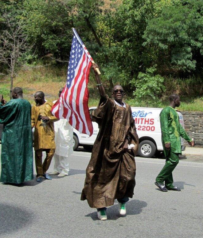 La parade Bamba à New York. © Christine Lewis