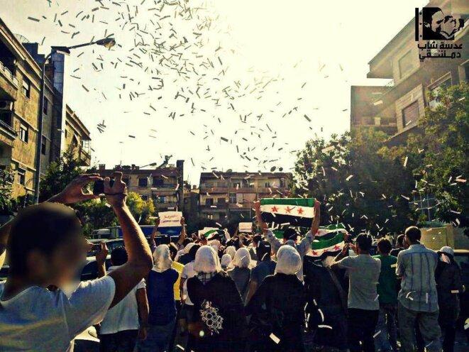 A Damas, le 6 août 2012 © NA.ZM