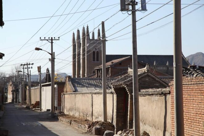 L'église de Yongning.