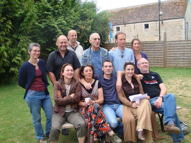L'équipe pédagogique en nov 2010 © Micro Lycée de Senart