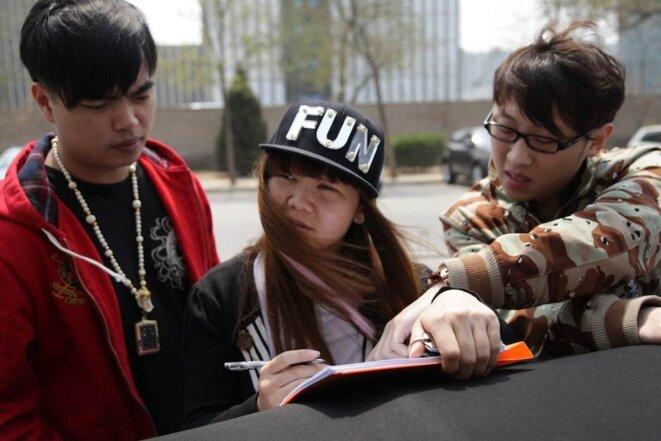 Inscription au club «Fu'er Dai».
