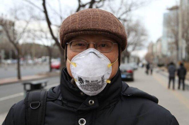 """L'airpocalypse"" pékinoise a renu Liu Jiang asthmatique © Jordan Pouille"