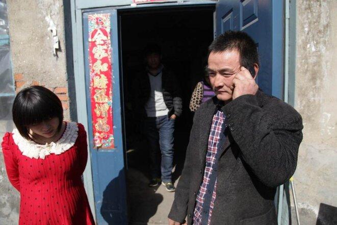 M. Guo et l'une de ses filles