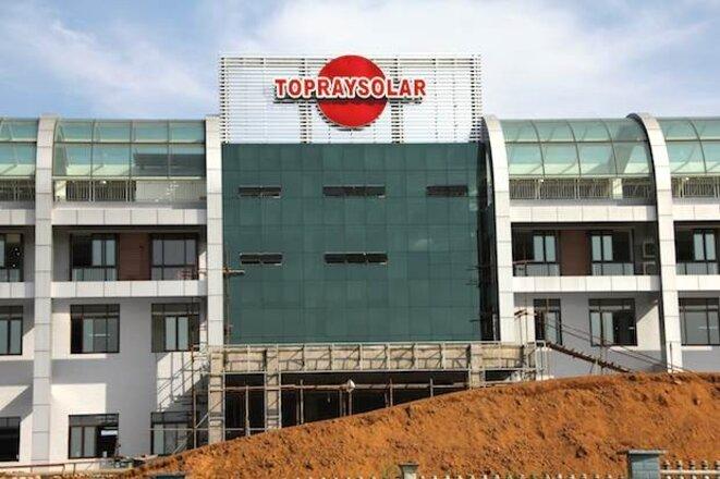La toute nouvelle usine Topraysolar