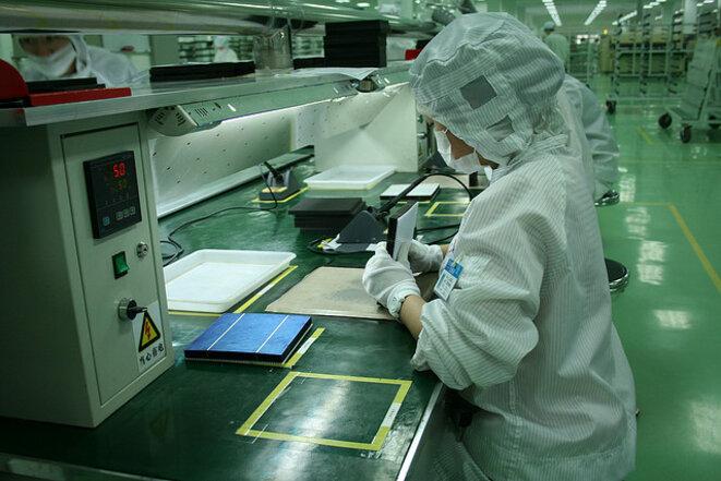 A Chengdu, dans les ateliers de la Tian Wei New Energy