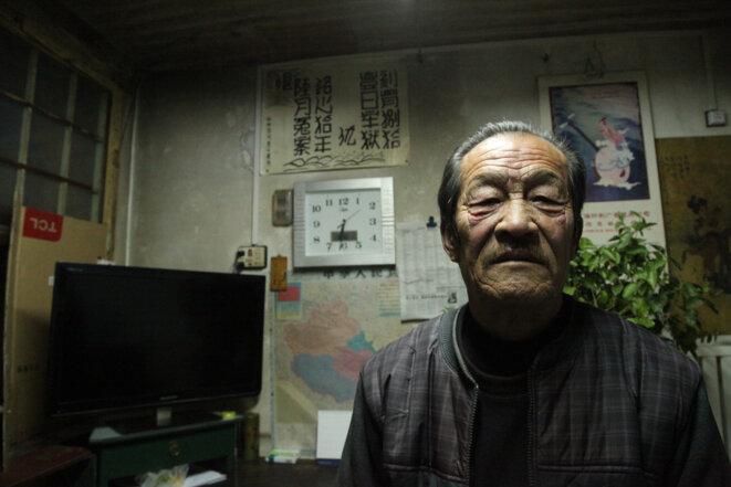 Wang Jing Yun, chez lui.