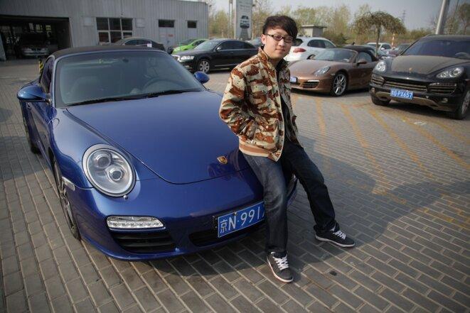 Zhi Zhuang et sa Porsche 911 Carrera
