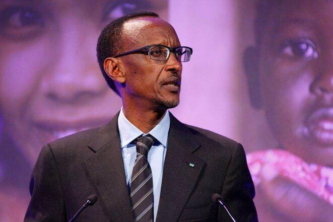 Paul Kagamé en 2012 à Londres © Russell Watkins/Department for International Development