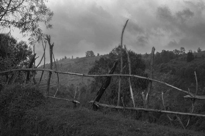 The hill at Bisesero in Rwanda today. © Thomas Cantaloube
