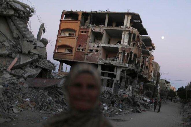 La bande de Gaza, début septembre 2014.