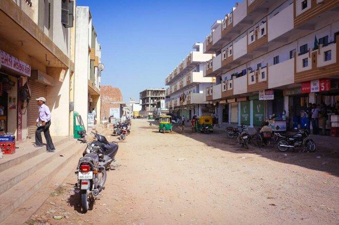 Le quartier de Juhapura © Thomas Cantaloube
