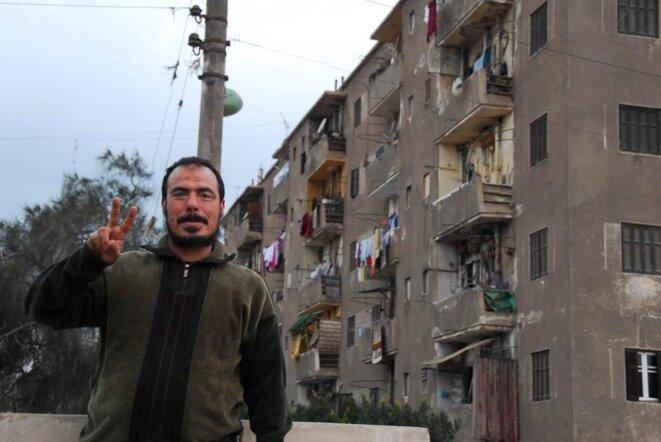 Le syndicaliste Kamel Fayoumi © Thomas Cantaloube
