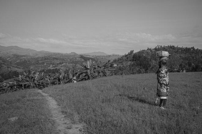 Au pays des mille collines, l'agriculure continue d'occuper 80% de la population © Thomas Cantaloube