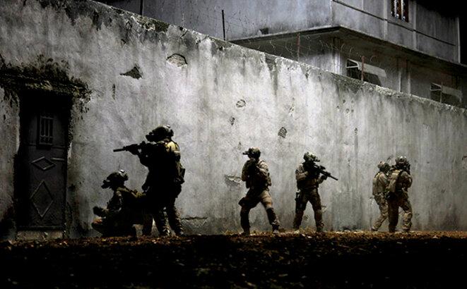 L'assault final des Seals, filmé avec un réalisme superbe par Kathryn Bigelow