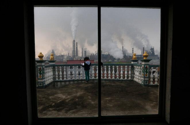 Un jour ordinaire à Quzhou, dans le province du Zhejiang, en avril 2014 © Reuters