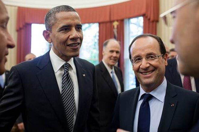 François Hollande et Barack Obama le 18 mais 2012 à la Maison Blanche.