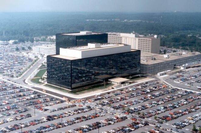 Le siège de la NSA à Washington © DR