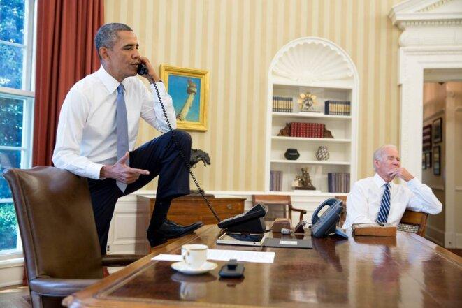Obama sûr de lui pour frapper la Syrie. C'était il y a 10 jours... © Pete Souza/Maison-Blanche