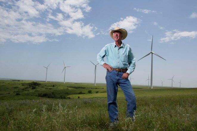 Pete Ferrel sur son ranch © Jean-Marc Giboux