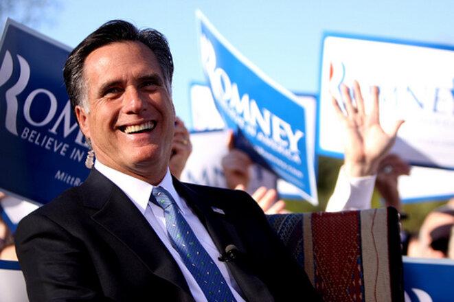 Mitt Romney dans l'Arizona en décembre 2011 © Gary Skidmore/Creative Commons