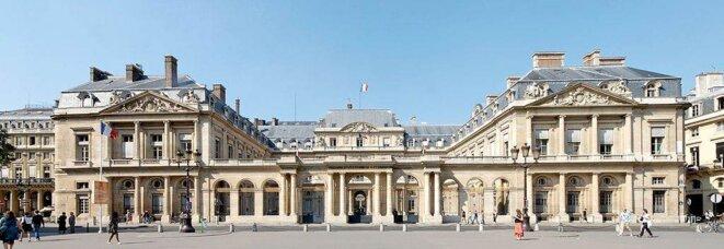 La façade du Conseil d'Etat au Palais Royal