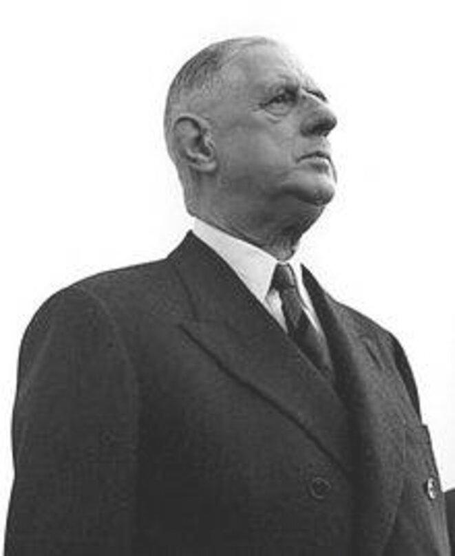 Charles de Gaulle en 1961