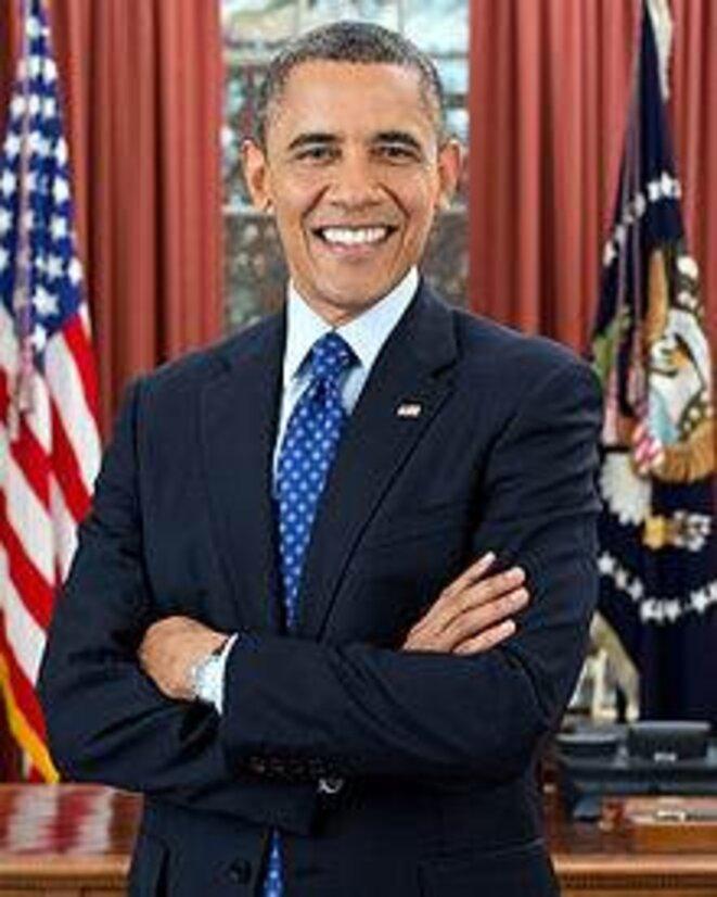 Portrait officiel de Barack Obama