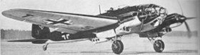 Le Heinek HE 111 de la Luftwaffe