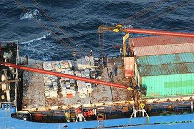 Prise de cocaïne sur un cargo au Panama