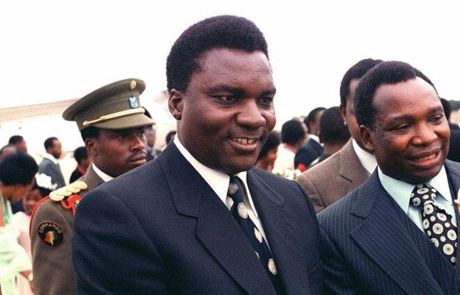 Juvénal Habyarimana en 1980